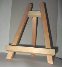 Chevalet en bois à décorer 28x19x4 cm wooden Easel Support