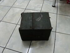 WW2 US Army? field telephone wooden box?