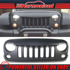 Fits 07-18 Jeep Wrangler JK Angry Bird V1 Style Front Hood Grille Grill