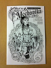 LADY MECHANIKA TABLET OF DESTINIES #6 JOE BENITEZ 1:10 INCENTIVE COVER 2015 NM