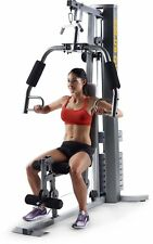 Golds Gym XRS 50 Home High And Low Pulley System Golds Set Exercise Fitness New