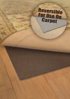 """5x8 Richhold Thick Cushion Rug Pad Reversible - Approx 4' 10"""" x 7' 8"""""""