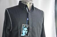 English Laundry Mens Shirt John Lennon Imagine Art Inspired Black SMALL NEW NWT