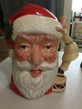 "Royal Doulton Toby Large Character Jug 7.5"" 1981 Santa Claus D6668 Porcelain"