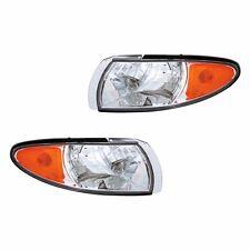 Fits Pontiac Grand Prix Driver + Passenger Parking Side Marker Light Lamp 1 Pair