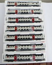 Roco 45460,45462 2 X, 45464,45465 2 X, 45466 7 carro IC 2000 SBB digital, luz LED