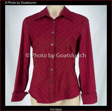 Cue Cotton Blend Striped Tops for Women