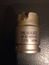 """New listing Milwaukee 49-57-8309 Carbide Tooth Hole Saw cutter 7/8"""""""