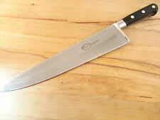 Soild Sabatier 12 inch Stainless Steel Chef Knife - Quick Shipping !!!