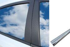 6x Premium A B C Colonne Porte Atteindre Auto Film Wrap Set en Carbone Chrome