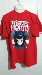 Rigor Mortis T shirt thrash metal possessed slayer sadus exodus overkill