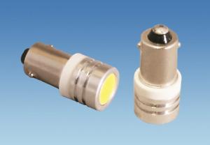 Haba BA9S 1 LED Warm White 12 Volt Bulb (1 x Bulb)
