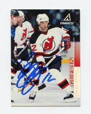 BILL GUERIN DEVILS AUTOGRAPH AUTO 97-98 PINNACLE #136 *56632