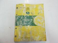 John Deere 9100 9200 9300 9400 Tractors Operators Manual Light Water Damage Oem