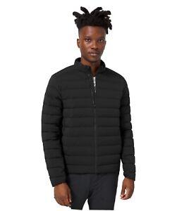 🍋 Lululemon Navigation Stretch Down Jacket Large Black 2021 Windproof Men's NWT