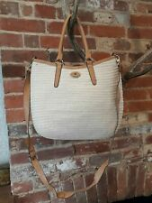 Fiorelli Womens Rattan Weave Handbag Crossbody Bag