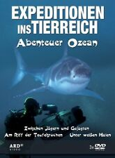 Expeditionen ins Tierreich Abenteuer Ozean 3 DVD BOX NEU / OVP Doku Unterwasser