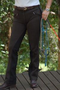 Ladies Jodhpurs,Breeches,Jodphurs boot cut riding Pants sticky Bum all sizes