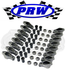 PRW 0835005 SBC Chevy Steel Self Aligning Roller Rockers 1.6 3/8 Arms