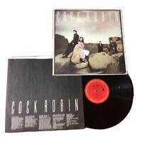 Cock Robin (self titled) *1985:PROMO Columbia – BFC 39582 *Vinyl (EX) copy