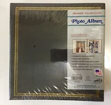 Pioneer Deluxe Cover Photo Album TR100 Holds 500 Assorted Photos USA Made