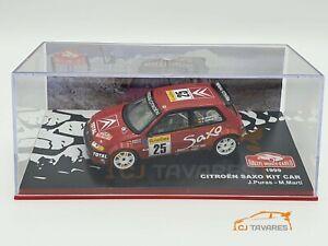 ALTAYA CITROËN SAXO KIT CAR #25 J.PURA - M. MARTÍ RALLY MONTE CARLO 1999 1/43