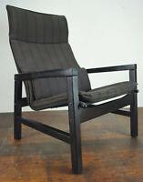 60er Vintage Sessel Retro Easy Chair Danish Modern Westnofa Rykken Ära 70er