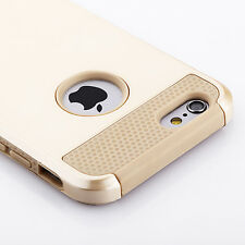 Iphone 5S case ,Gold Armor Hybrid Shockproof Hard Rugged Heavy Duty Cover Case