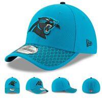 e7475d412e9a4 Carolina Panthers New Era Men s Official NFL Sideline 3930 Cap Hat ...