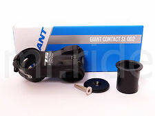 """GIANT Contact SL OD2 Stem 60mm +/-8 degree Black 1-1/4"""" and 1-1/8"""" spacer"""