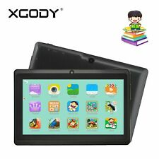 XGODY Educational Tablet PC 7'' Quad Core 16GB Android 8.1 Webcam For Kids Child