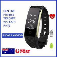 2Stepz Fitness Tracker Wristband Pedometer Heart Rate Activity Fitbit Style Band