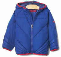 Baby Gap  Blue Superman Puffer Winter Jacket Coat 3 Years RRP$100