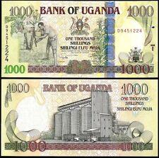 UGANDA 1000 SHILLINGS 2009 P 43 UNC
