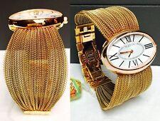 $2,800 VALENTINO V43MBQ5002S080 SEDUCTION PLISSE SWISS Women Watch Lady Gift NEW