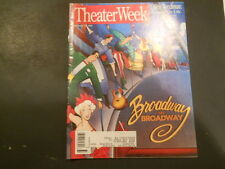 Laurie Beechman, Austin Pendleton - Theater Week Magazine 1995