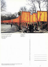 1990's THE GATES CENTRAL PARK NEW YORK UNITED STATES UNUSED COLOUR POSTCARD (a)