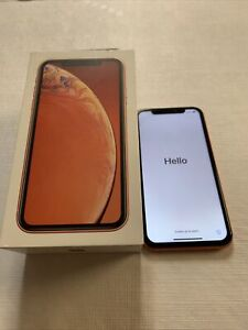 Apple iPhone XR - 256GB - Coral (Unlocked) A1984 (CDMA + GSM)