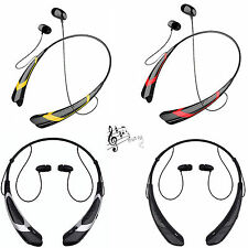 Universal Wireless Bluetooth Headset Earphone Stereo Earpiece For iPhone LG HTC
