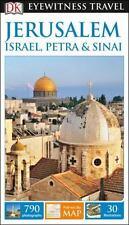 DK EYEWITNESS TRAVEL GUIDE JERUSALEM, ISRAEL, PETRA & SINAI