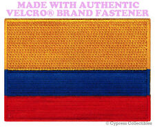 COLOMBIAN FLAG PATCH EMBROIDERED COLOMBIA new BOGOTA w/ VELCRO® Brand Fastener
