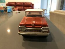 1960s Nylint Ford Speedway Special Toy Truck & Trailer #4000 Beautiful