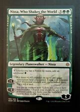 Nissa, Who Shakes the World War of the Spark Magic the Gathering MTG NM-Mint