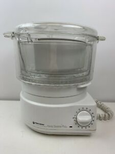 Black And Decker Handy Steamer Plus HS80 White Rice Cooker Food Vegetable