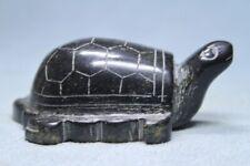 Collectable Exquisite Handwork Jade Carving Tortoise Precious Souvenir Statue
