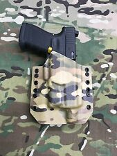 Multicam Kydex Light Bearing Holster for Glock 19 23 Thread Barrel Surefire XC1