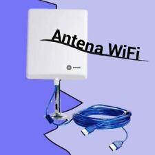 Antena para WiFi exterior con 10 metros de USB cable activo Wonect N4000a Melon