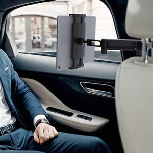 Car Back Seat Holder Mount Headrest For iPhone iPad Mini Phone Tablet Black LI