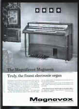 MAGNAVOX The Magnificent ELECTRONIC ORGAN 1961 ad