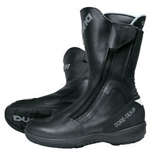 Daytona Road Star GTX ancha señores motocicleta botas de cuero-negro